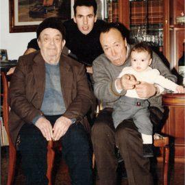 Le quattro generazioni Dino Sauro Luciano Gabriel
